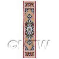 Dolls House Miniature 24cm Woven Turkish Hall Runner (TR106)