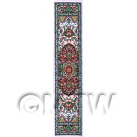 Dolls House Miniature 24cm Woven Turkish Hall Runner (TR108)