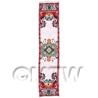 Dolls House Miniature 24cm Woven Turkish Hall Runner (TR109)