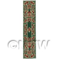 Dolls House Miniature 24cm Woven Turkish Hall Runner (TR111)