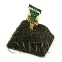 Dolls House Miniature Cress Seed Packet With A Stick