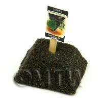 Dolls House Miniature Summer Savory Seed Packet With A Stick