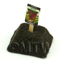 Dolls House Miniature Long Cayenne Pepper Seed Packet With A Stick