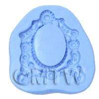 Dolls House Miniature Picture Frame Silicone Mould