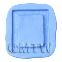 Dolls House Miniature Reusable Rectangle Frame Silicone Mould