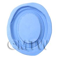 Dolls House Miniature Reusable Oval Frame Silicone Mould