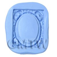 Dolls House Miniature Reusable Picture Frame Silicone Mould