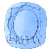 Dolls House Miniature Reusable Cherub Frame Silicone Mould