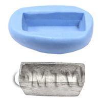 Dolls House Miniature Reusable Bread Tin Silicone Mould
