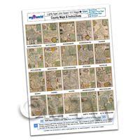 Dolls House 20 John Speed UK County Maps A4 Value Sheet 3