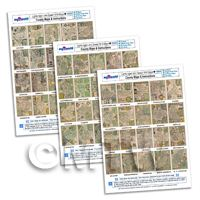 Dolls House 3 x John Speed UK County Maps A4 Value Sheets (60 Maps)