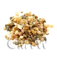 Dolls House Miniature Fine Assorted Gravel Mix