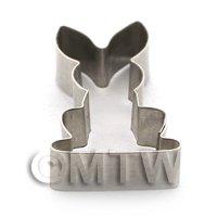 Tiny Custom Made Rabbit Sugarcraft / Clay Cutters
