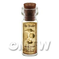 Dolls House Miniature Apothecary The Blusher Fungi Bottle And Label