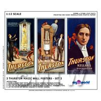 Dolls House Miniature Thurston Magic Poster Set 3 - 3 Posters