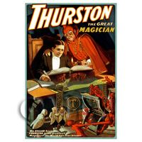 Dolls House Miniature Thurston Magic Poster - Devils Trickery