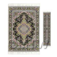 Dolls House Large Tudor / Medieval Rectangular Carpet And Runner (TULRR02)
