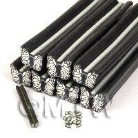 Unbaked Black Butterfly Cane Nail Art And Jewellery UNC24