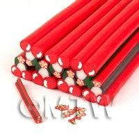 Unbaked Cherry Cane Nail Art And Jewellery UNC55