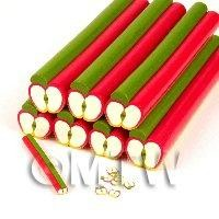 Unbaked Ripe Apple Cane Nail Art And Jewellery UNC58