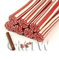Unbaked Pepperoni Cane Nail Art And Jewellery UNC63