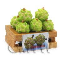 Dolls House Miniature Crate of Custard Apples