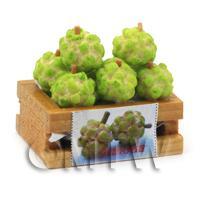 Dolls House Miniature Crate of Custard Apples