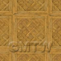 Dolls House Miniature - Dolls House Versailles Large Panel Parquet Wood Effect Flooring