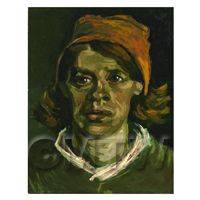 Van Gogh Painting Head of a Woman No 3