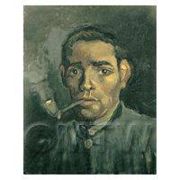 Van Gogh Painting Head of a Man