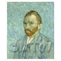 Van Gogh Painting Self Portrait Number Three