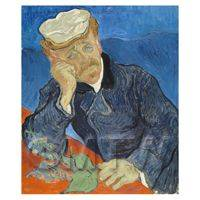 Van Gogh Painting Portrait of Dr. Paul Gachet