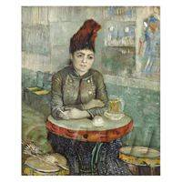 Van Gogh Painting Agostina Segatori - Café Tambourin