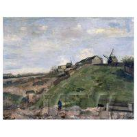 Van Gogh Painting The Hill of Montmartre With Stone Quarry