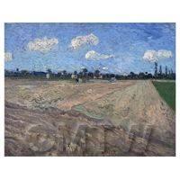 Van Gogh Painting Ploughed Field