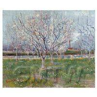 Van Gogh Painting Orchard in Blossom (Plum Trees)