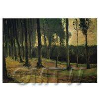 Van Gogh Painting Tree Lined Avenue