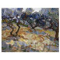 Van Gogh Painting Olive Trees By Night