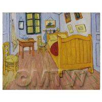 Van Gogh Painting Bedroom in Arles