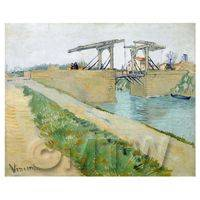 Van Gogh Painting The Langlois Bridge at Arles