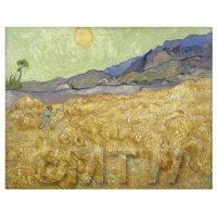 Van Gogh Painting Hayfield