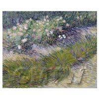Van Gogh Painting Grass and Butterflies