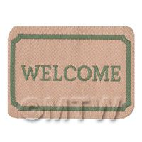 Dolls House Classic Welcome Mat (WM4)
