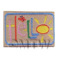 Dolls House Hello Welcome Mat (WM8)