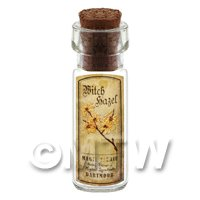 Dolls House Apothecary Witch Hazel Herb Short Colour Label And Bottle