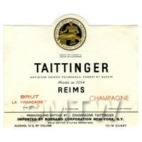 Miniature French Tattinger Champagne