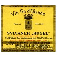 Miniature French White Wine Label