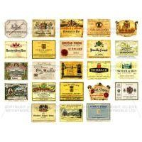 Set of 23 Miniature Assorted Wine Labels - WS03