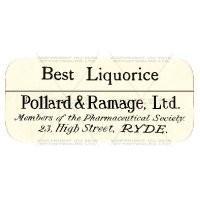 Best Liquorice Miniature Apothecary Label