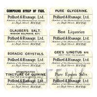 8 Dolls House  Labels - Bulk Jar Set SBB3